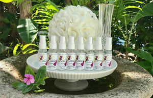 BULK ORDER Hand Sanitizer 50+ Units Custom Label Available, Wedding Favors Hand Sanitizers Orchid, Maroon, Wedding Flowers