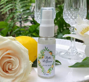 BULK ORDER Hand Sanitizer 50+ Units Custom Label Available, Wedding Favors Hand Sanitizers Citrus,Yellow Flowers, Wedding Flowers