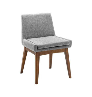 Chanel Dining Chair - Pebble & Cocoa