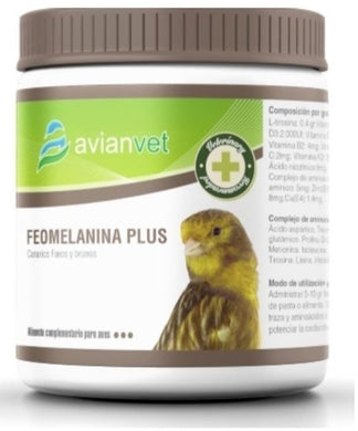 Avianvet Feomelanine Plus 250gr For Canary Canaries & Cage Birds | The Poultry Coop