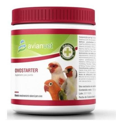 Avianvet Ovostarter 125gr For Cage Birds | The Poultry Coop