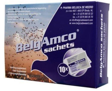 Belgica De Weerd BelgAmco 10x5gr Box For Racing Pigeons Birds & Poultry | The Poultry Coop