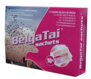 Belgica de Weerd Belga Tai 10x5gr Box For Racing Pigeons | The Poultry Coop