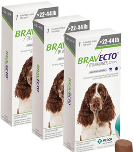 Bravecto 500 mg Medium 10-20 kg One Tablet 12 weeks Protection Anti Sticks & Fleas 3 Pcs Free Shipping - The Poultry coop