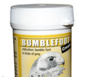 DAC Bumblefoot Cream 30gr Inflammatory Infections Of Foot Pads For Falcons - The Poultry coop