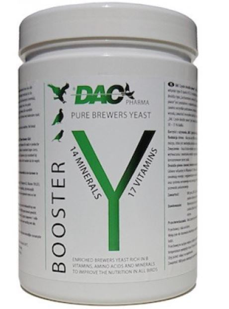 Dac Booster Pure Brewers Yeast 800gr For Racing Pigeons and Birds | The Poultry Coop