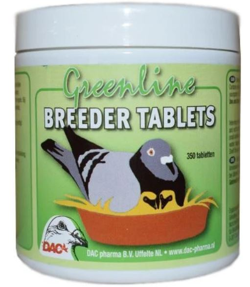 Dac Breeding 350 Tablets For Young Pigeons | The Poultry Coop