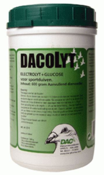 Dac Dacolyt 600gr Electrolytes for Racing Pigeons Birds & Poultry - The Poultry coop