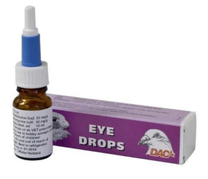 Dac Eye Drops 10ml For Pigeons Birds & Falcons | The Poultry Coop
