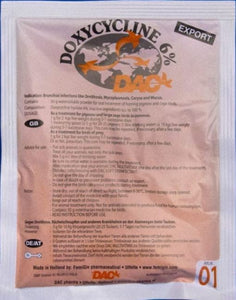 Dac Doxycycline 6% 50 gr Respiratory Problems For Pigeons Poultry Birds - The Poultry coop