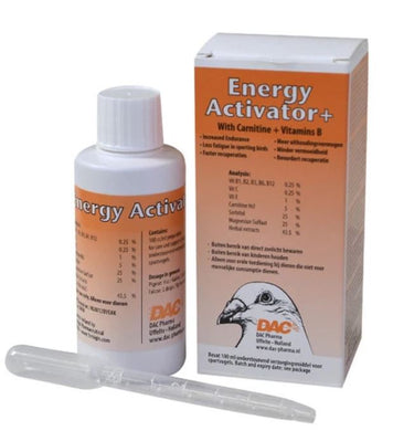 Dac Energy Activator 100 ml Pigeon Poultry Birds - The Poultry coop
