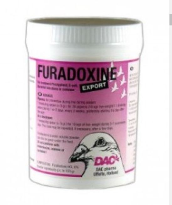 Dac Furadoxine 100g Against Paratyphoid & Bacterial Infections Pigeons Poultry Birds - The Poultry coop