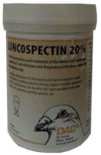 Dac Lincospectin 20% 100 gr Extra Strong Pigeons Poultry Birds - The Poultry coop