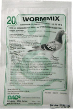 Dac Wormmix Powder 100g Hair & Roundworm Infestations Pigeon Poultry Birds - The Poultry coop