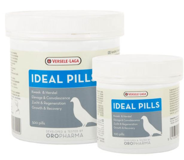 Versele-Laga Oropharma Ideal Pills 500 Pigeons Poultry Birds - The Poultry coop