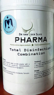 Pharma Total Disinfection Combination 150gr Pigeons Poultry Birds - The Poultry coop