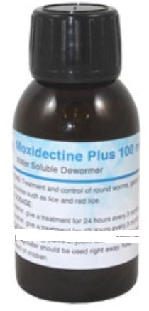 Moxidectine Plus 100ml For Birds & Racing Pigeons - The Poultry coop