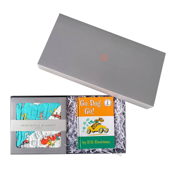 Go, Dog. Go! Newcastle Blanket Gift Set