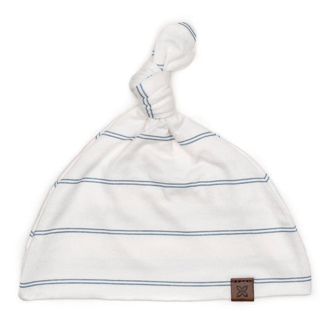 Papillon Bebe Knotted Hat - Dusk Stripe