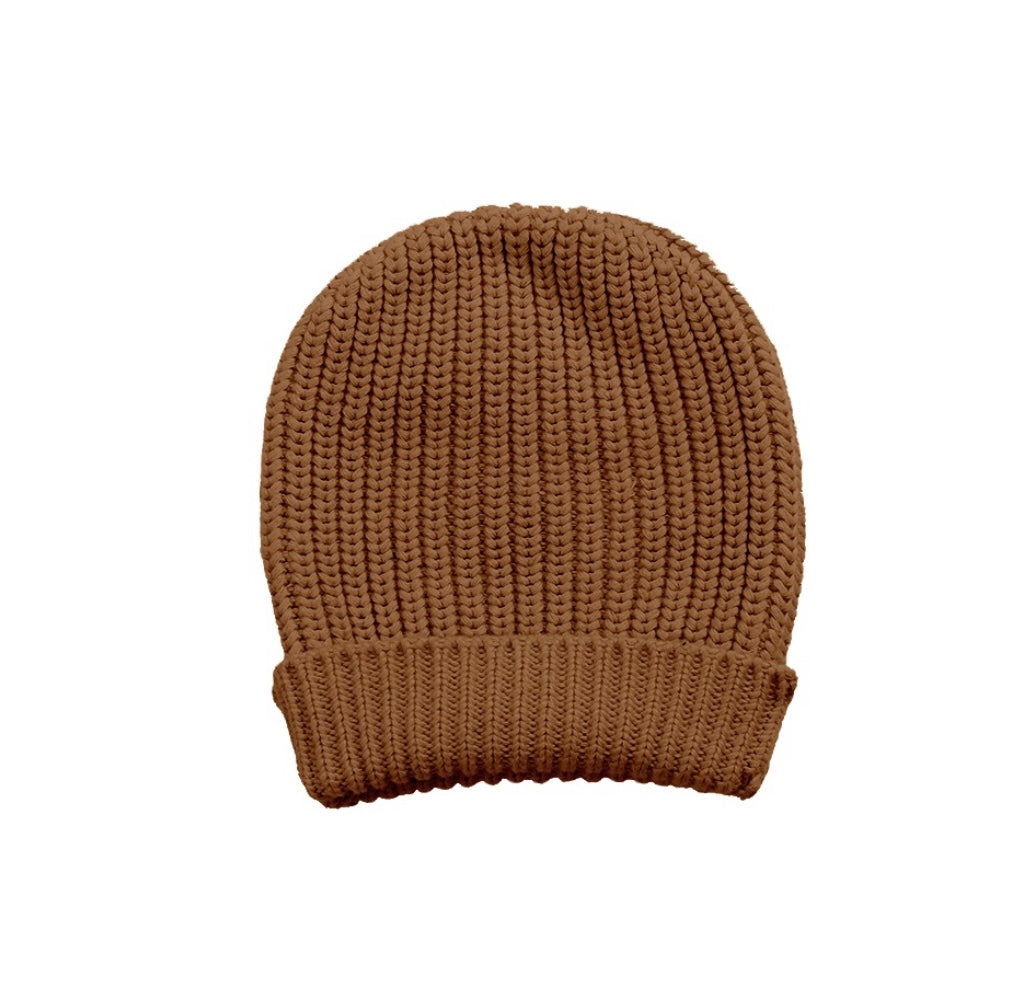 Max Beanie - Teddy Brown