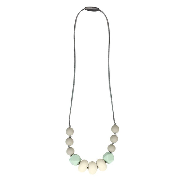 Mint Green Teething Necklace