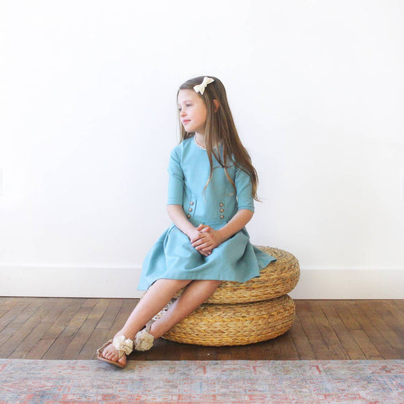 The Cora Dress - Seafoam