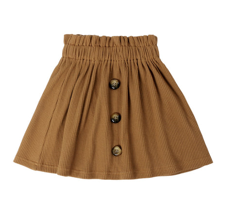 Kate Skirt - Teddy Brown