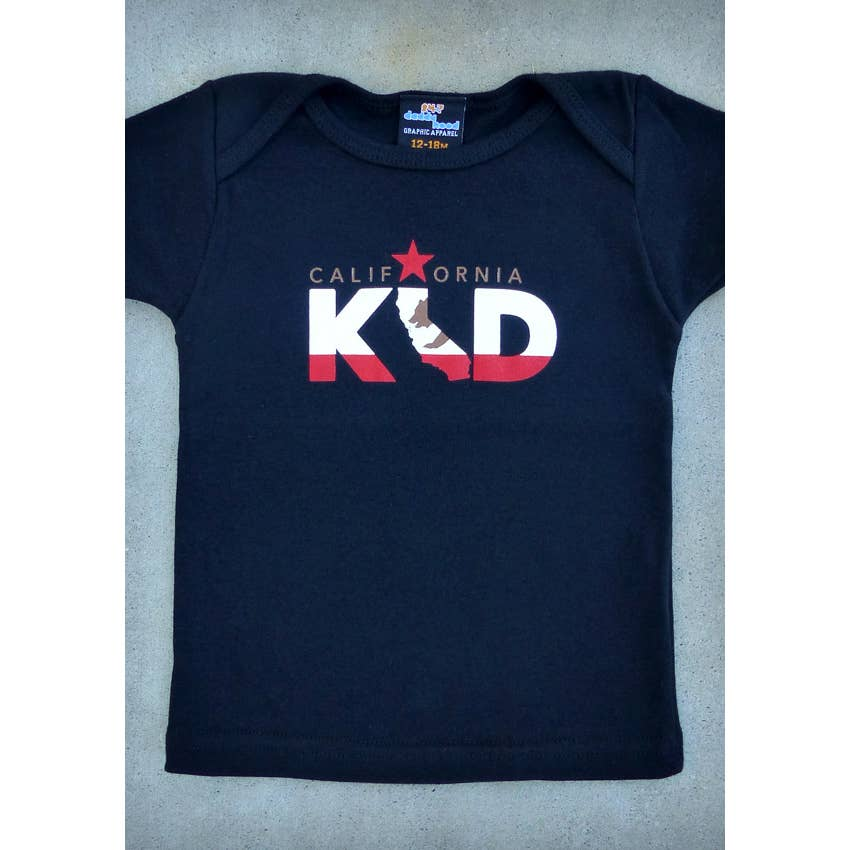 California Kid Baby Lap Tee