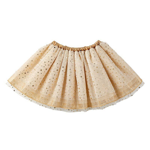 Gold Tulle Tutu 6-18 Months