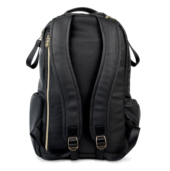 Jetsetter Black Boss Backpack™ Diaper Bag