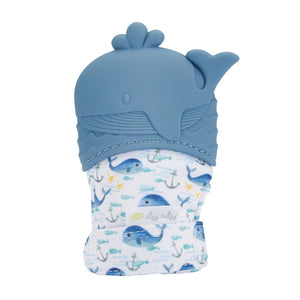 Itzy Mitt™ Silicone Teething Mitts - Whale