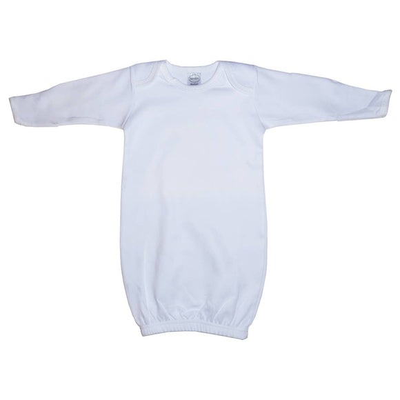 Bambini Infant White Gown