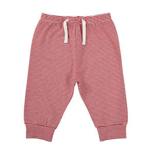 Red / White Stripe Pants (6-12 Months)