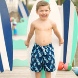 Sea Breeze Boys' Swim Trunks