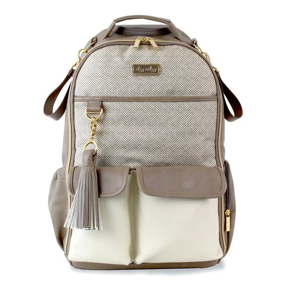 Vanilla Latte Boss Backpack™ Diaper Bag