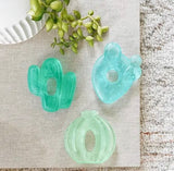 Cutie Coolers™ Cactus Water Filled Teethers (3-pack)