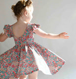 Olivia Dress in Floral Meadow
