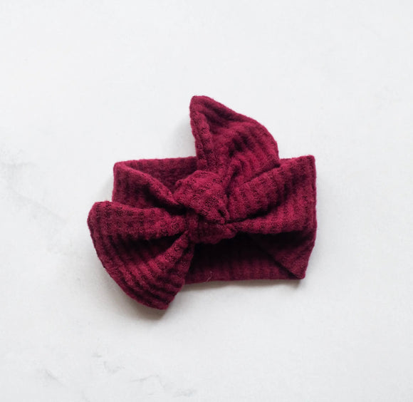 Cranberry Headwrap