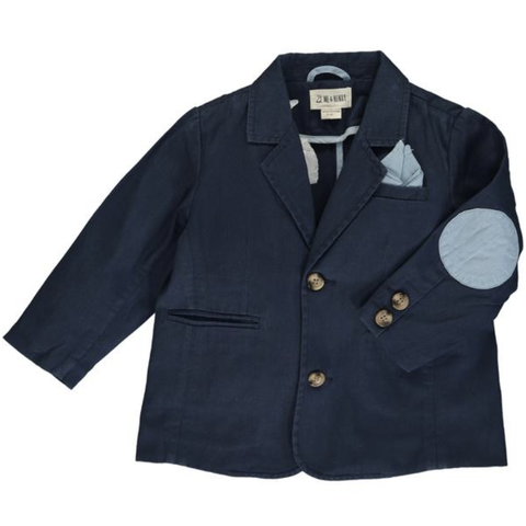 Navy Cotton Jacket