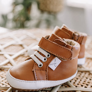 Little Love Bug Co. Brown Hightops