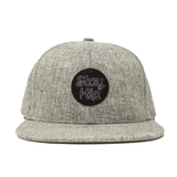 Maverick Grey Velcro Hat
