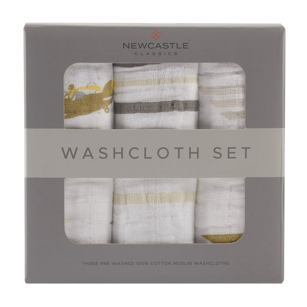 Towel Washcloth Set - In the Sky