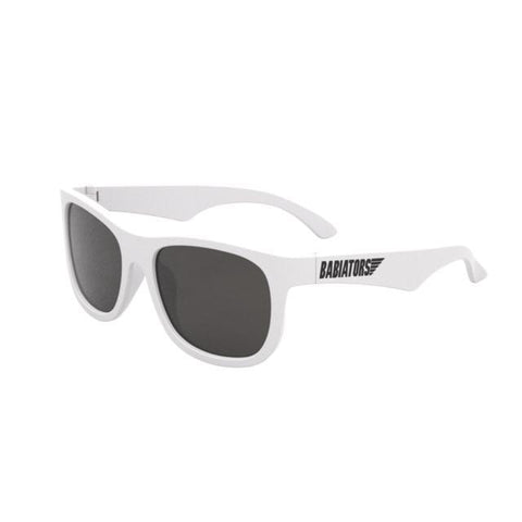 Babiators Sunglasses - Wicked White Navigator - LIMITED EDITION