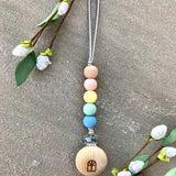 Hope Tag-a-long Pacifier Clip