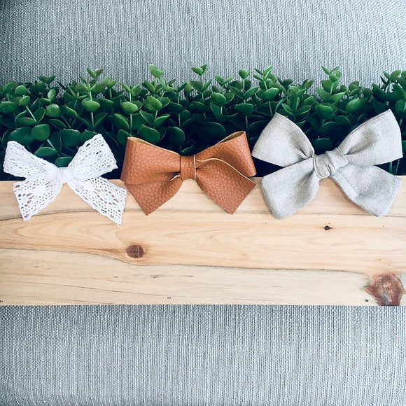 Everything Nice Top Knot Hair Bows