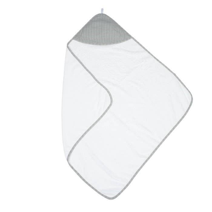 Hooded Towel - Grey