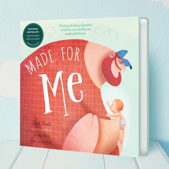 Book - Made for Me (Board Book)