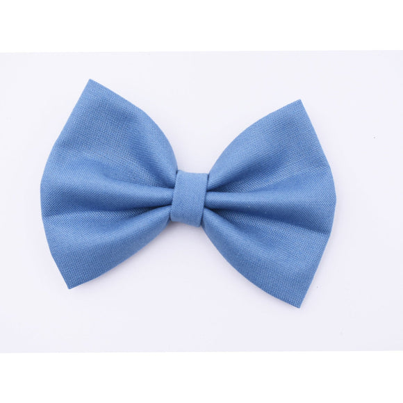 Dusty Blue Hair Bow