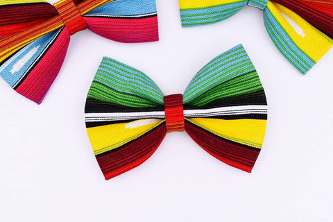 Serape Print Hair Bow