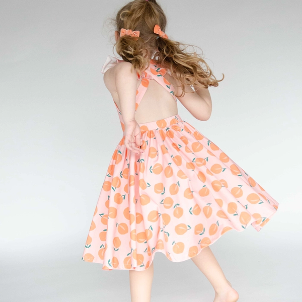 Rosita Dress in Just Peachy